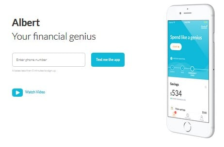 Albert Genius- free online college financial tool