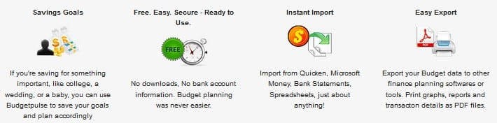 BudgetPulse - free online college financial tool