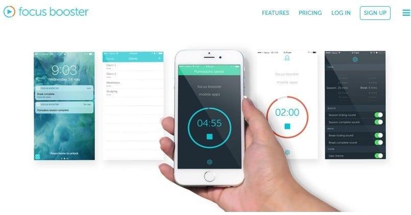 Focus Booster screenshot