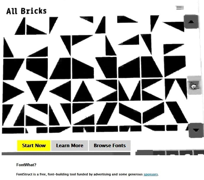 FontStruct screenshot