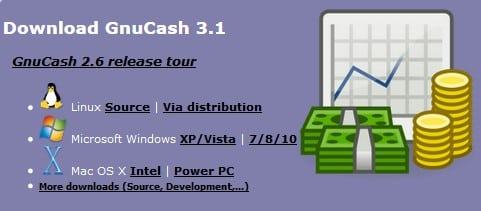 GnuCash - free online college financial tool