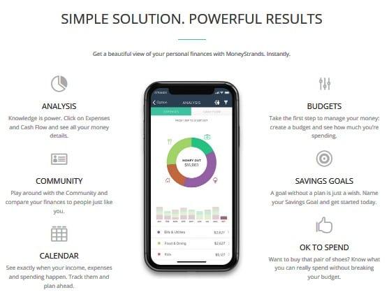 MoneyStrands - free online college financial tool