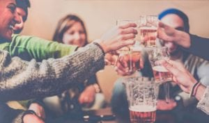 students drinking - alcohol abuse