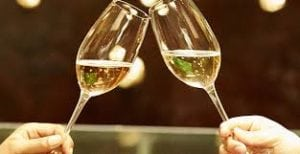 wine and champagne - superfoods
