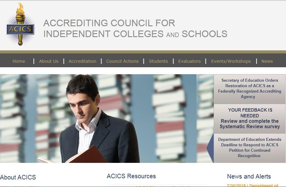 acics- online education scams