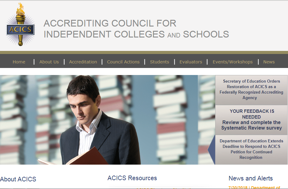 acics- online education scams