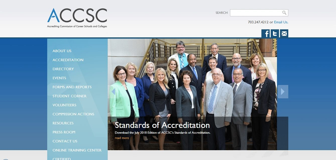 accsc-online education scams