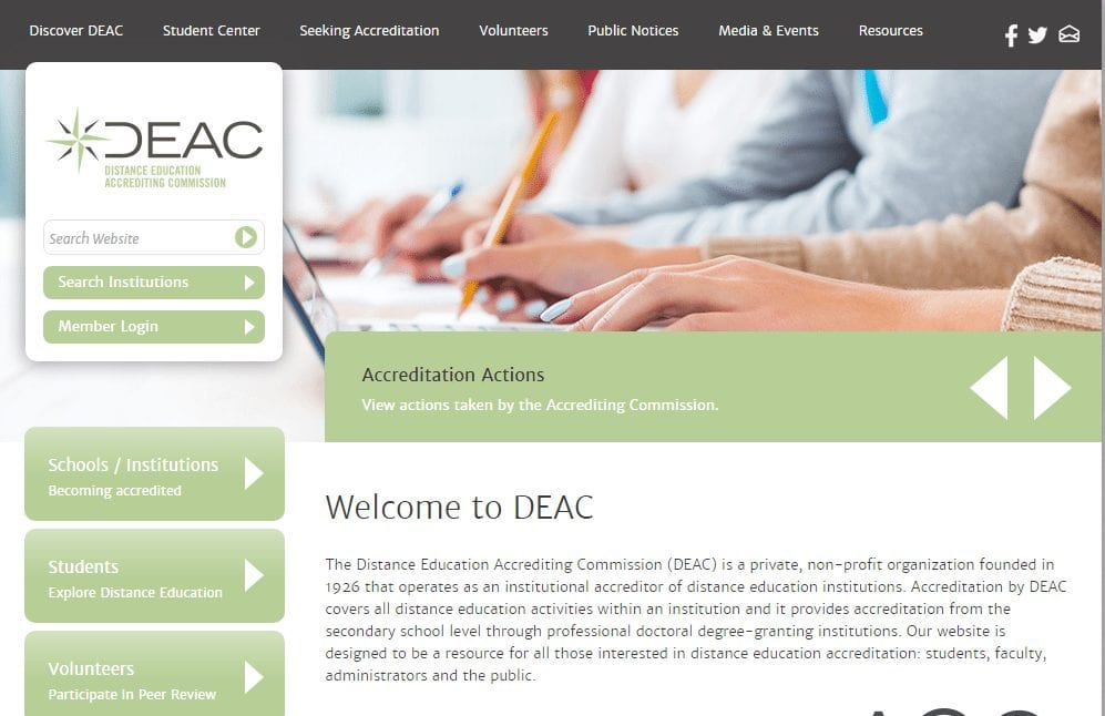 deac- online education scams