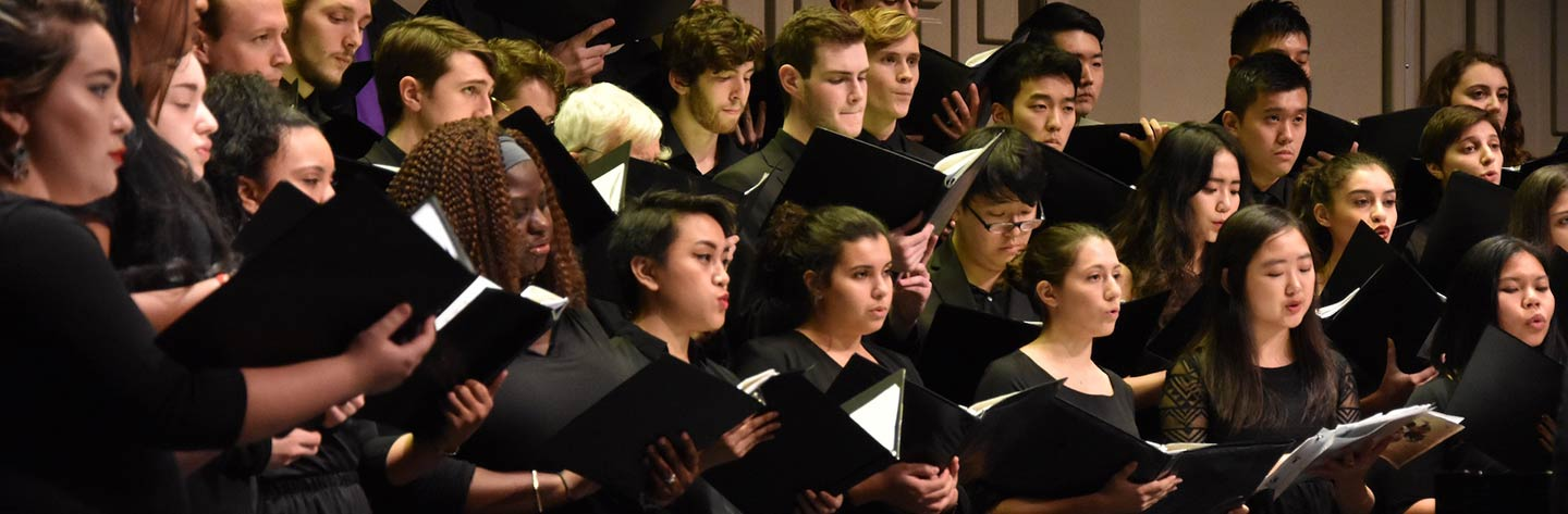 20 Outstanding U S  University and College Choir Programs