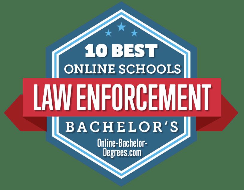 best law enforcement degrees badge