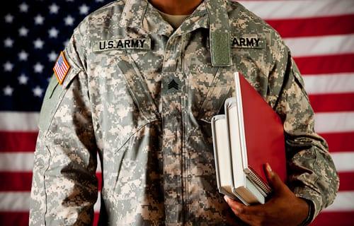 online military friendly school