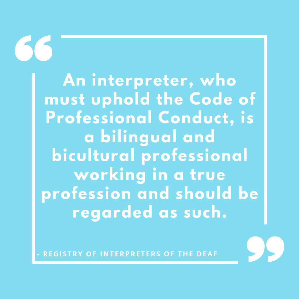 Interpretation Studies in ASL-English