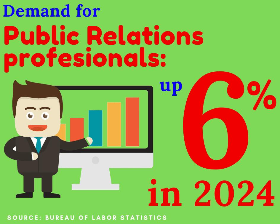 public relations demand
