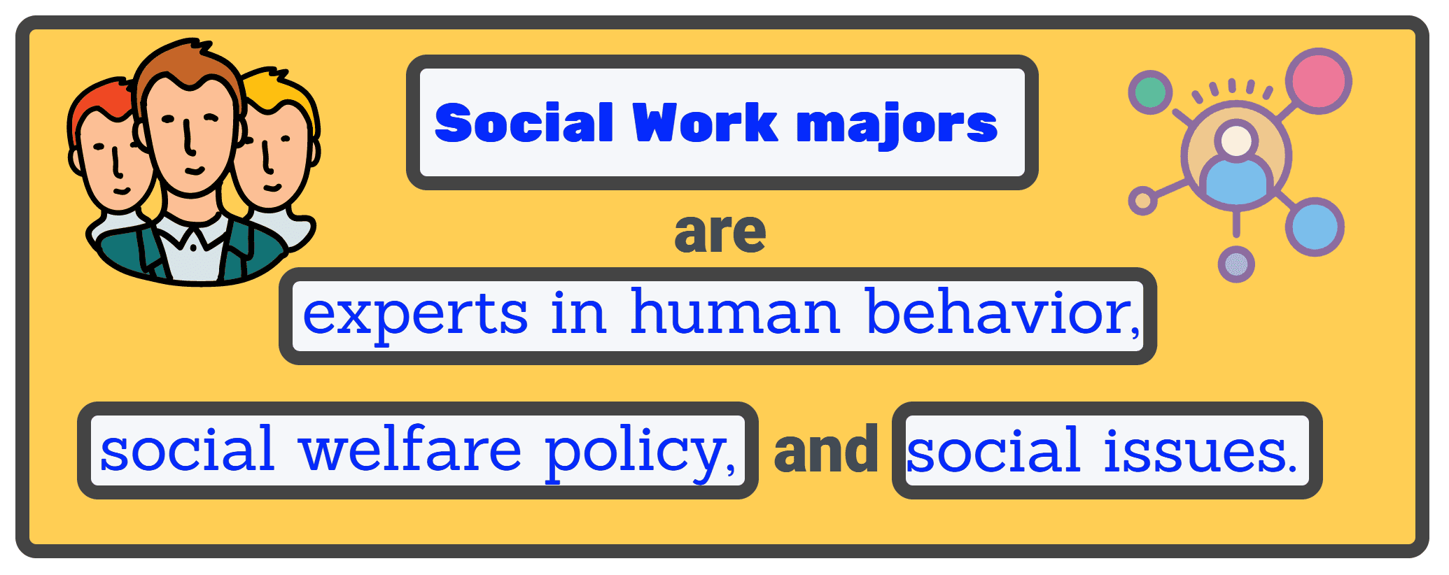 Social Work expertise