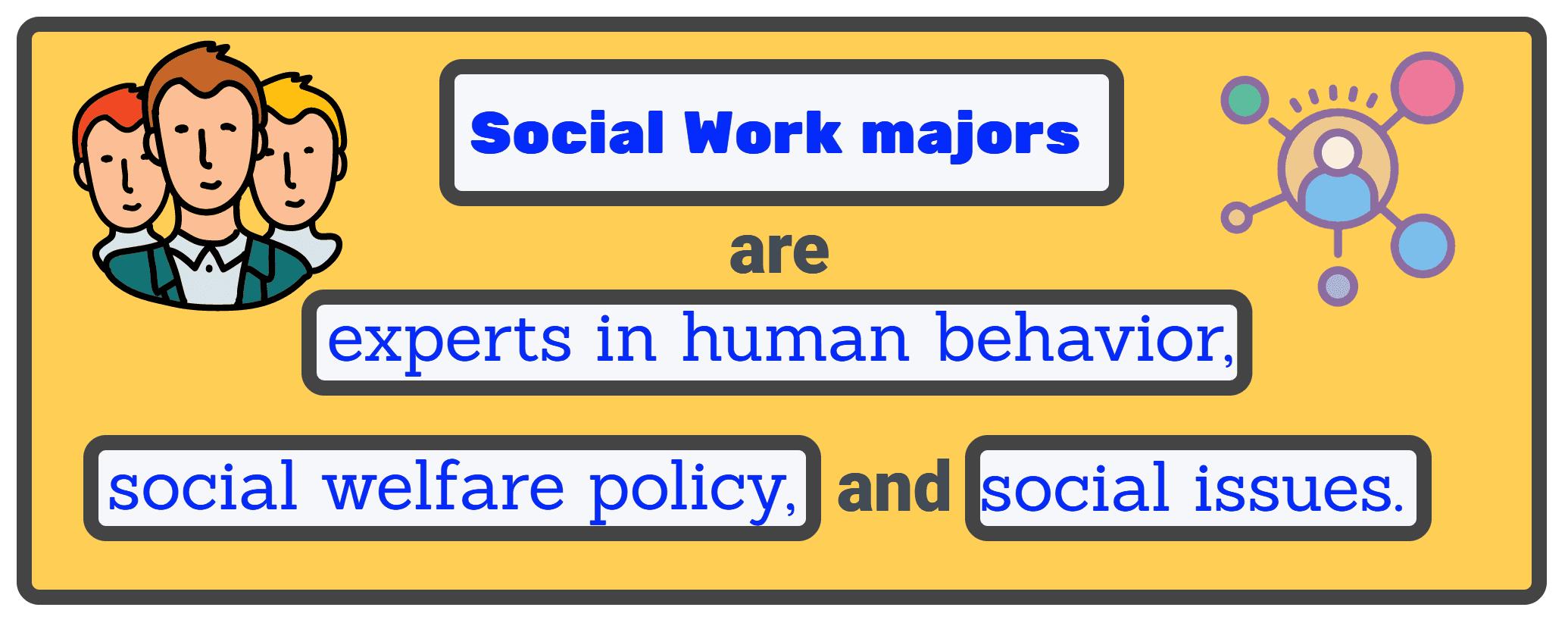 Social Work expertise