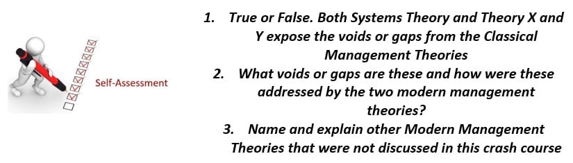 Systems Theory of Organizations Takeaway