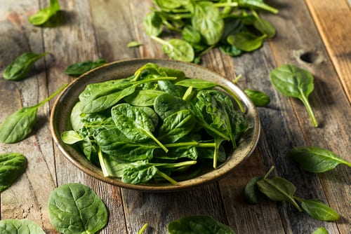 super food spinach