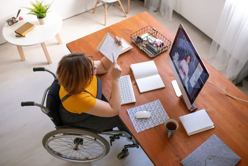 online learning for the disabled