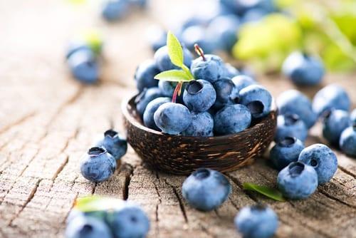 super food blueberries