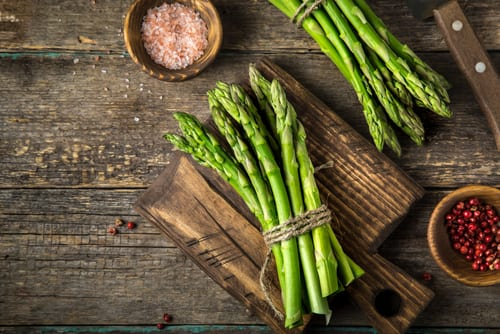 super food asparagus